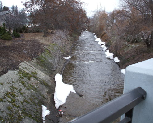 Penticton Creek Before
